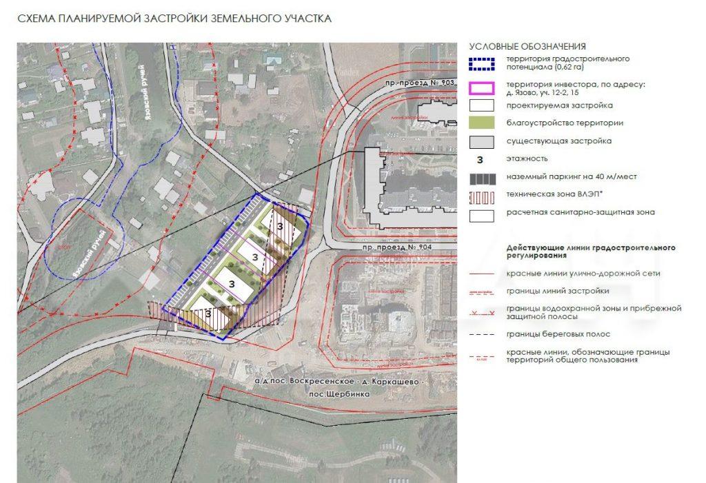 Земельный участок для Малоэтажного жилищного строительства (МЖС) в Бутово, Москва