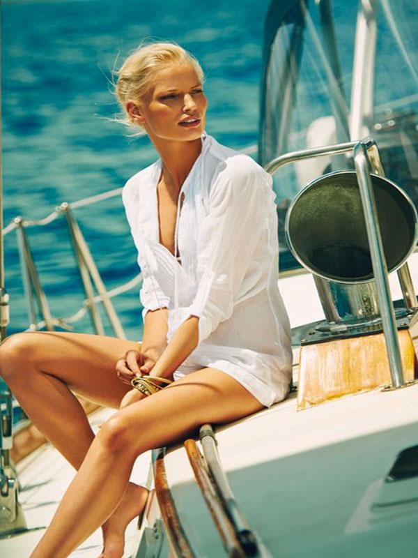 Фотосессия Лакшери на яхте